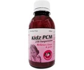Kidz Paracetamol 250mg Suspension Strawberry 100ml