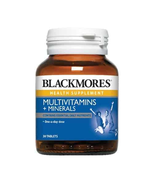 blackmores multivitamins and minerals