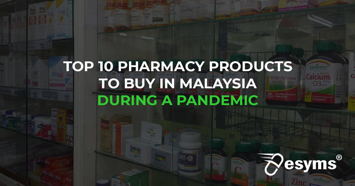 top 10 pharmacy products malaysia
